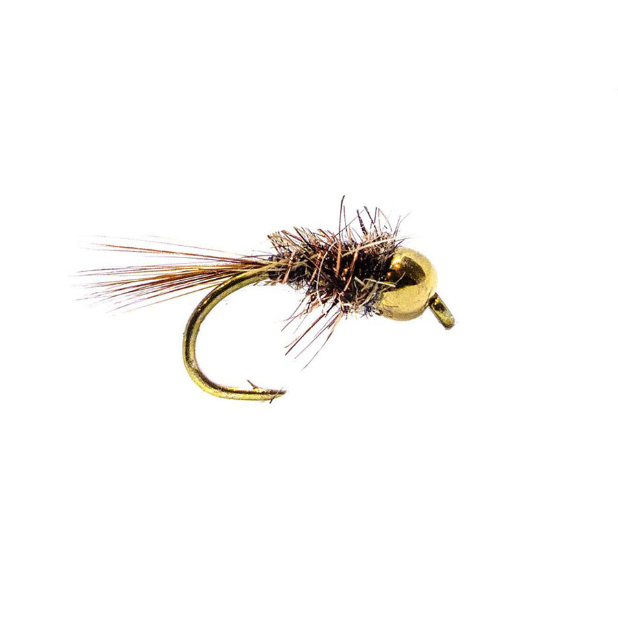 Category 3 Hare & Copper - Gold Tungsten Bead Nymph
