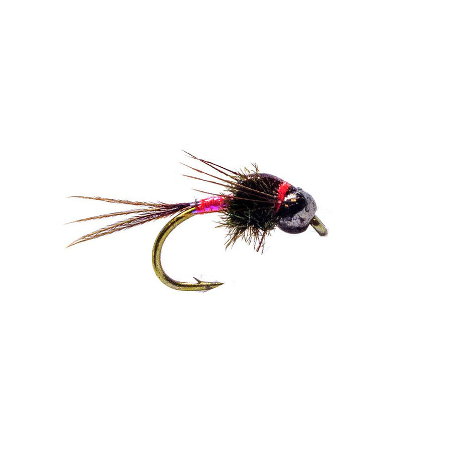 Category 3 Consultant UV Pink - Black Tungsten Bead Nymph