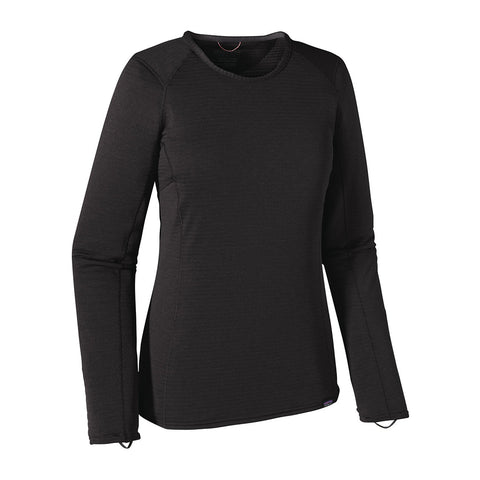 Patagonia Women's Capilene Thermal Weight Crew Baselayer - Black