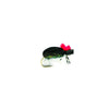 Fulling Mill High Visibility Black Foam Beetle Dry Fly - Premium Fishing Fly