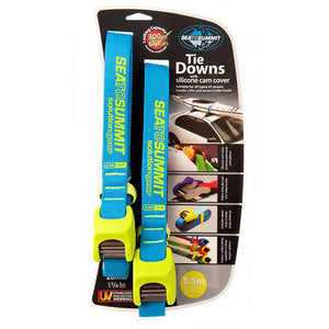 Solution Kayak Tie Down Straps with Silicone Cam Cover
