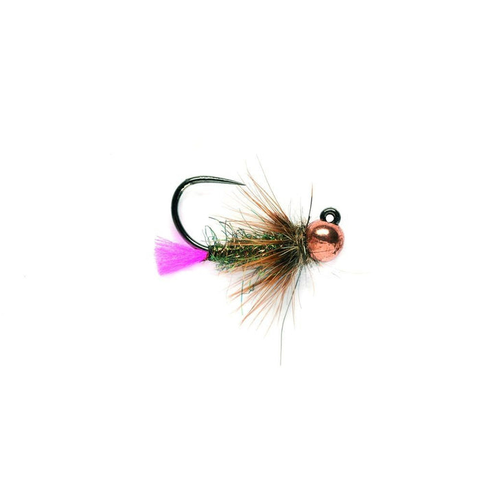 Fulling Mill Barbless Tungsten Pink Tag Jig - Tactical Fly