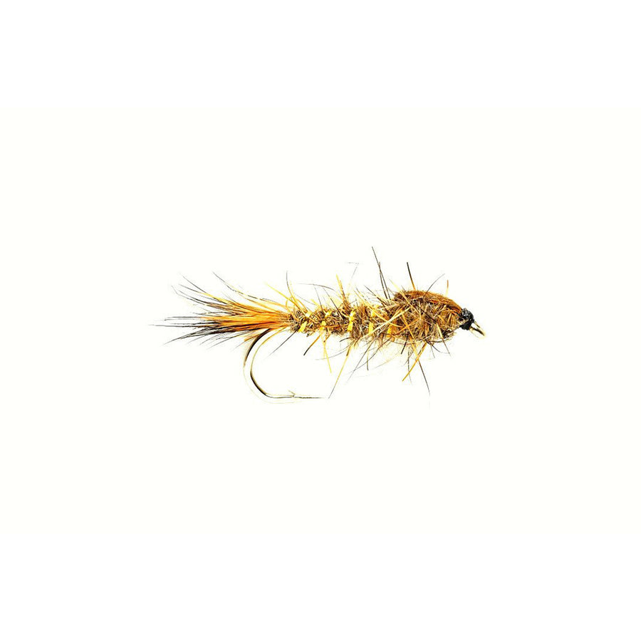 Fulling Mill Gold Ribbed Hare's Ear Nymph - Natural