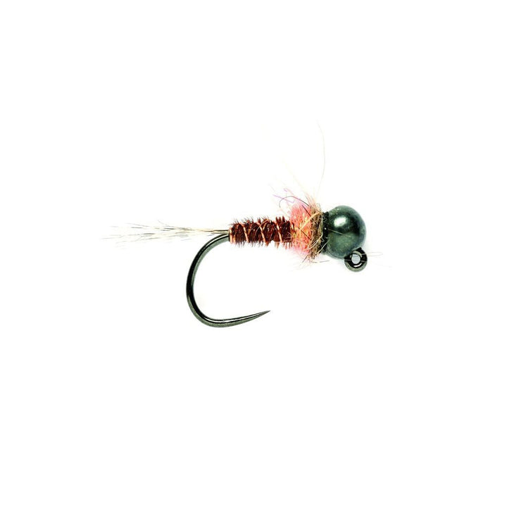 Fulling Mill Barbless Tungsten Pink Hot Spot Jig - Premium Tactical Fly