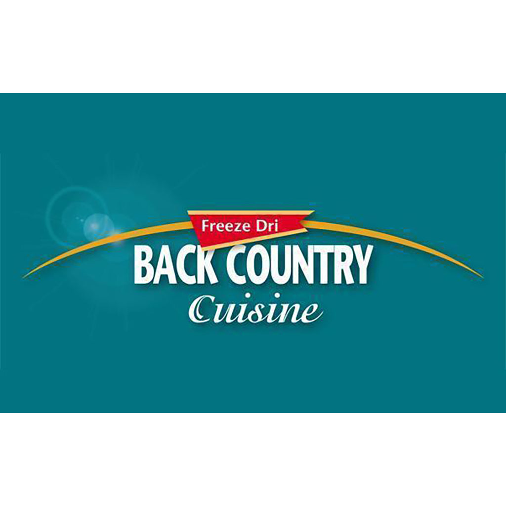 BackCountry Cuisine Freeze Dried Vegetarian Meals - Single Serve