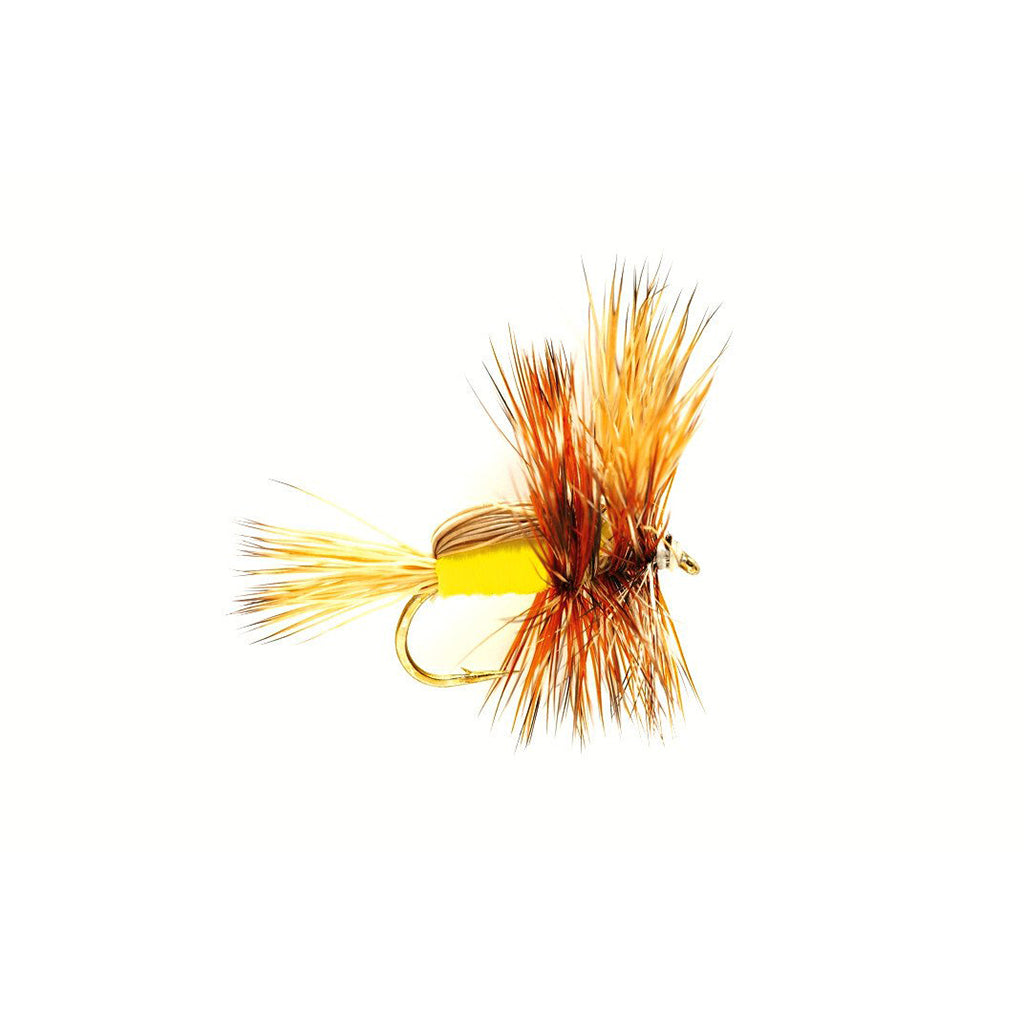 Fulling Mill Humpy Yellow - Premium Dry Fly