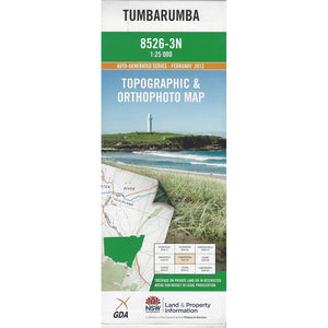 Tumbarumba 8526-3N 1:25k Topographic Map