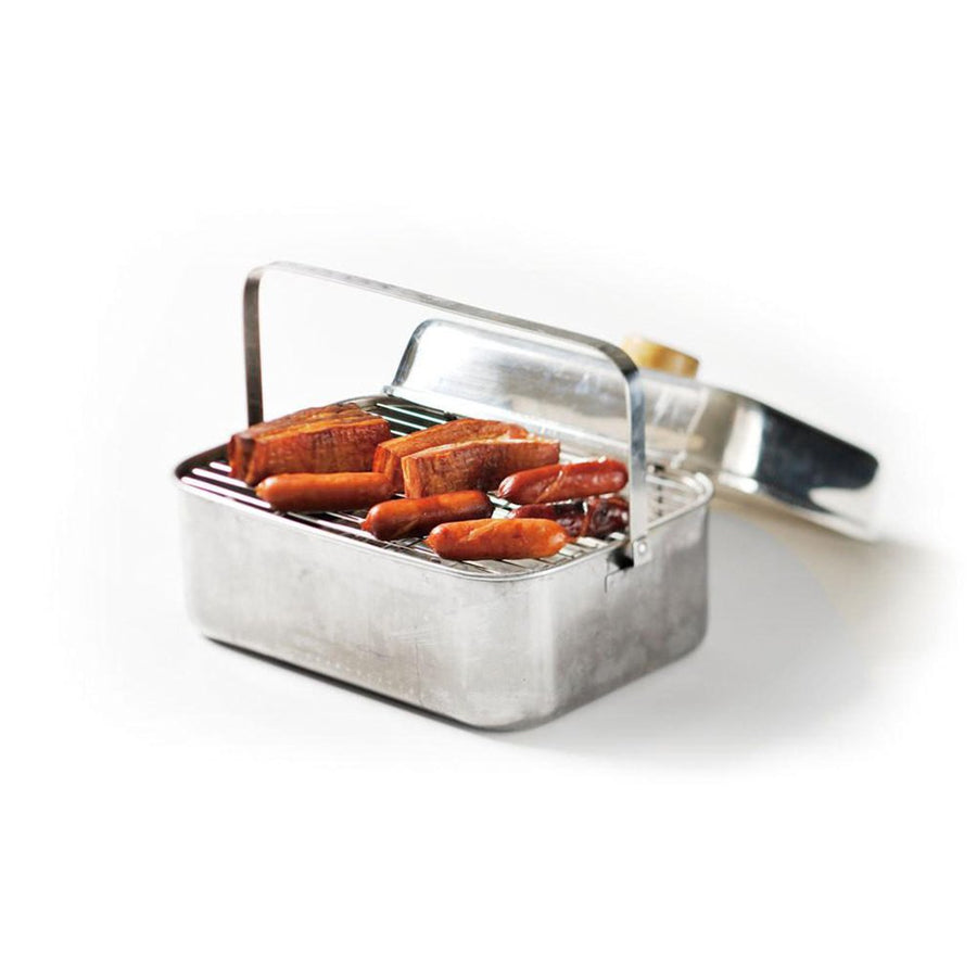 Snow Peak Stainless Steel Compact Smoker
