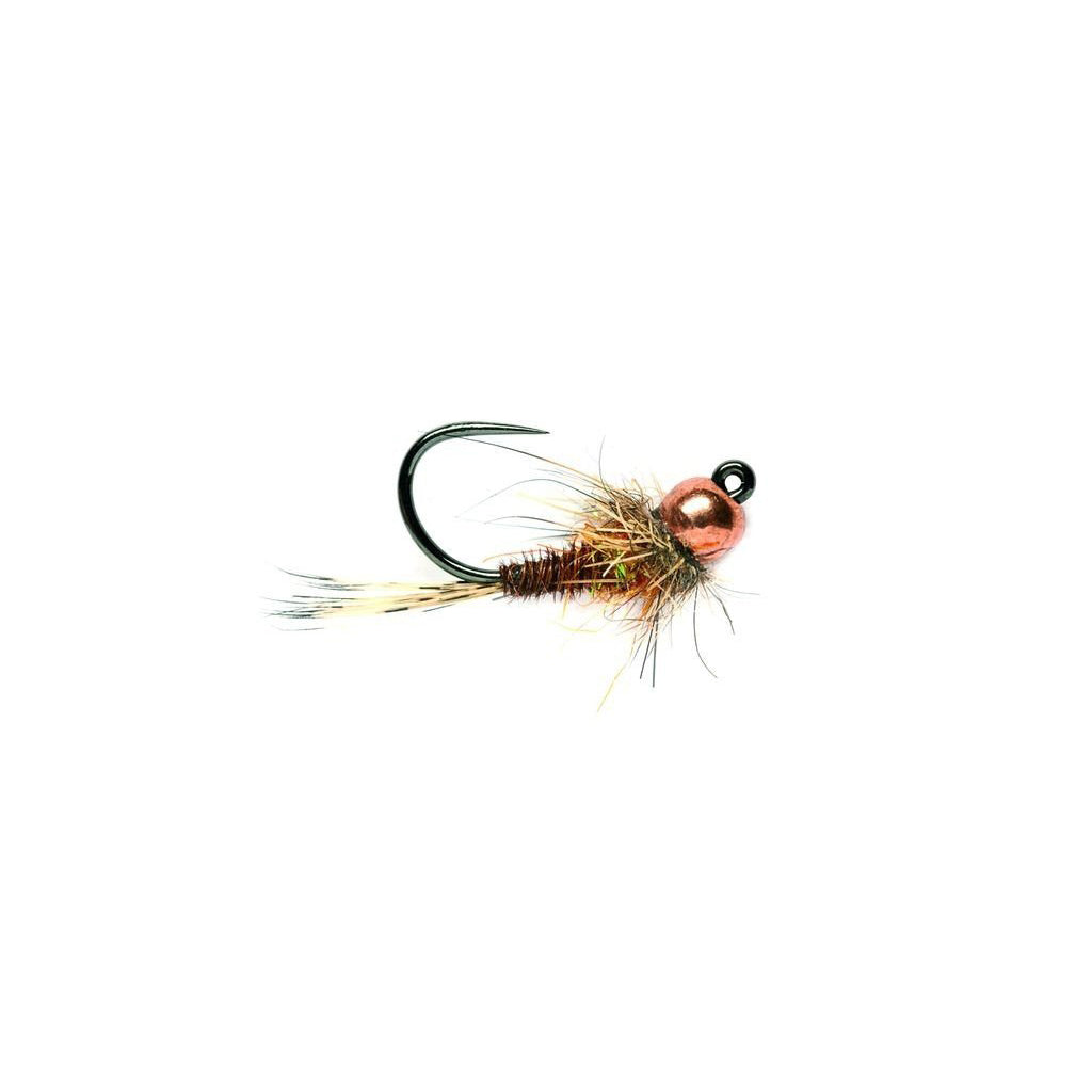 Fulling Mill Barbless Tungsten Pheasant Tail Hot Spot Jig - Tactical Fly