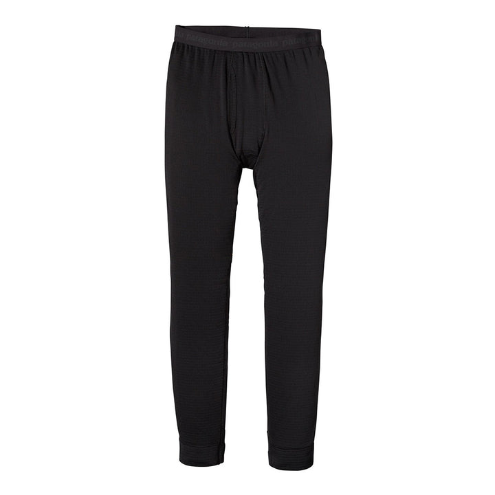 Patagonia Men's Capilene Thermal Weight Leggings BLK - Front