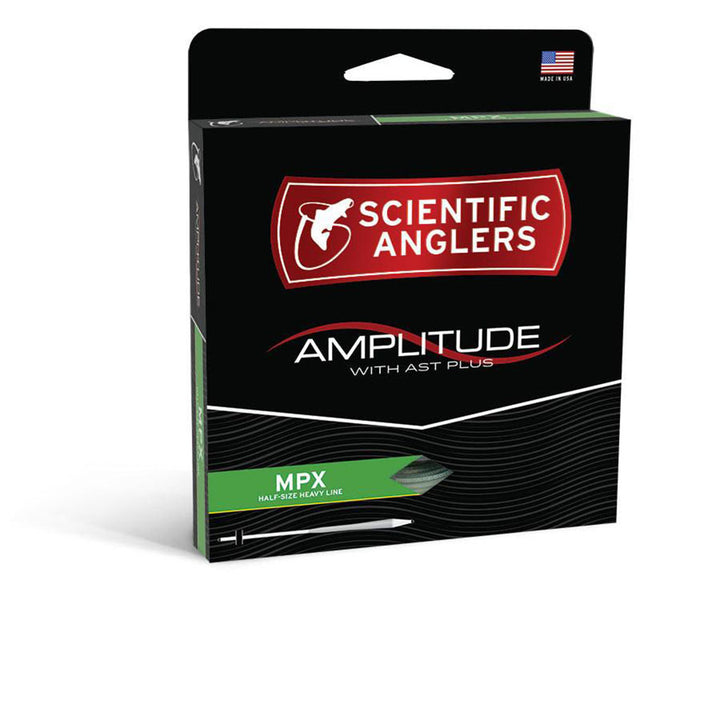Scientific Anglers Amplitude MPX Tapered Fly Line - Optic Green/Turtle Grass/Buckskin