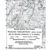 Bush Maps Victoria Round Mountain Area (NSW) - S.R Brookes
