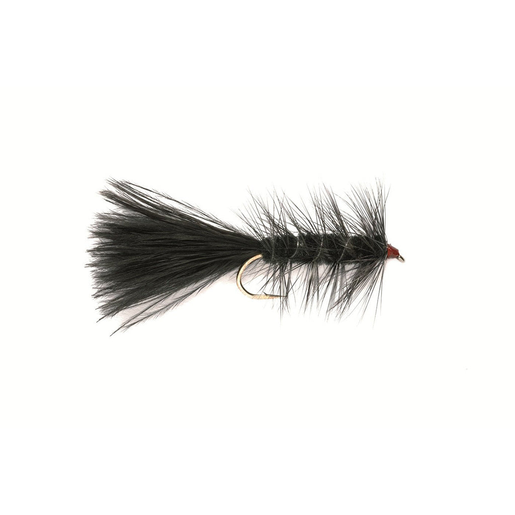 Fulling Mill Wooly Bugger Black Weighted - Premium Wet Fly