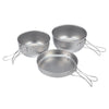 Snow Peak Titanium 3 Piece Set - Cookware Set