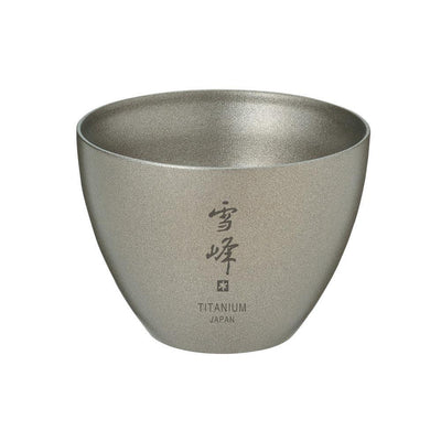 Snow Peak Titanium Sake Cup / Shot Glass 55ml