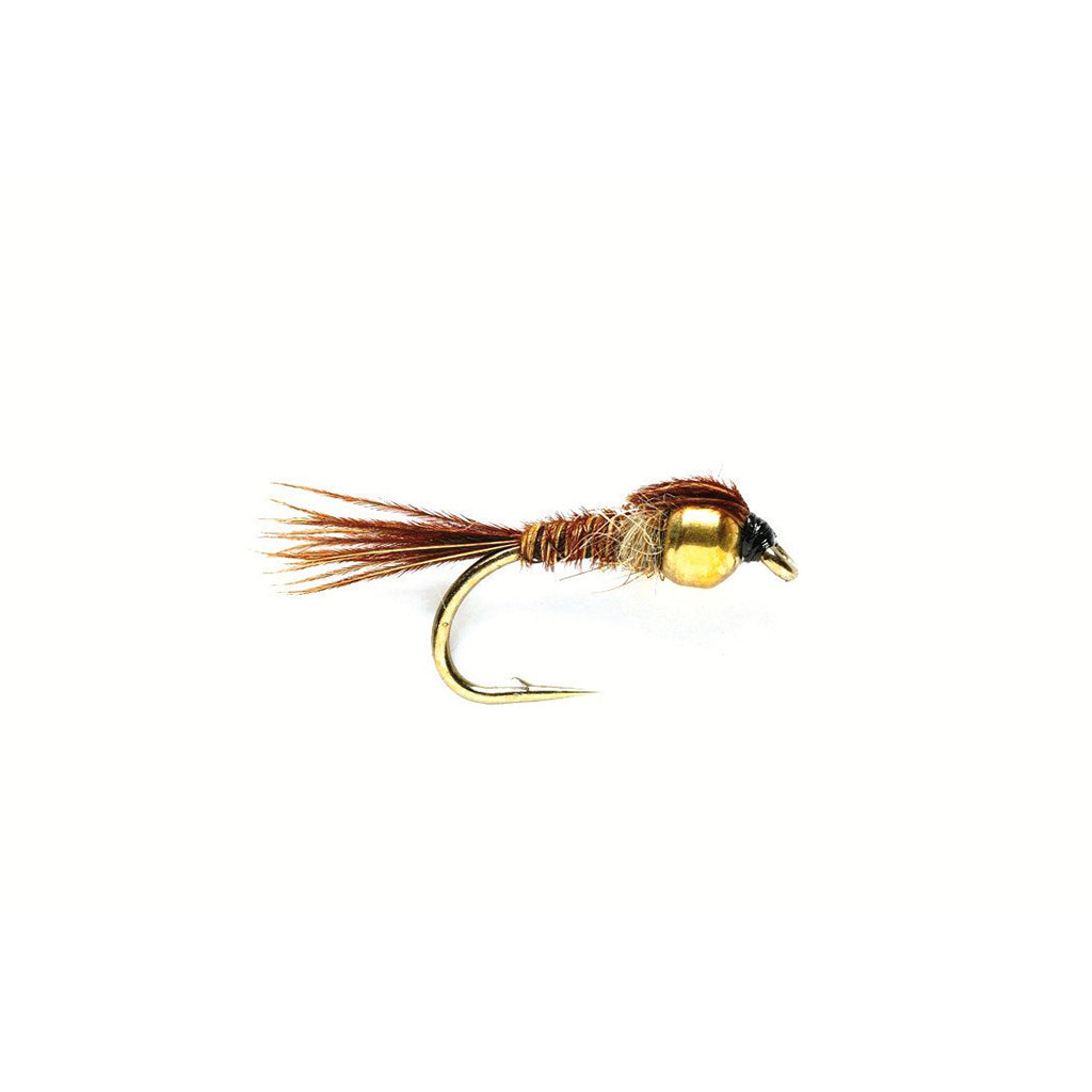 Fulling Mill Pheasant Tail Gold Tungsten Bead - Premium Nymph