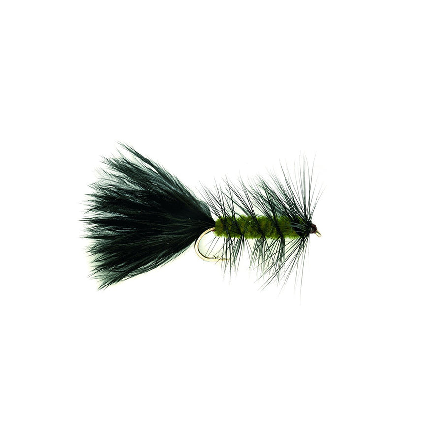 Fulling Mill Wooly Bugger Olive - Premium Weighted Wet Fly
