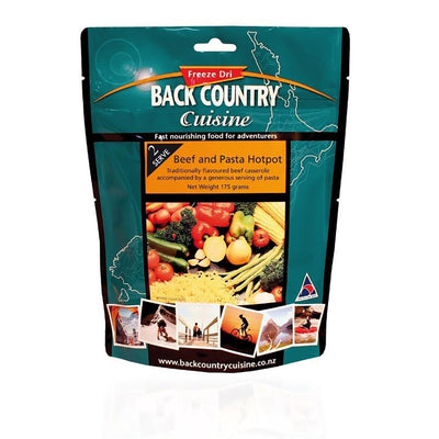 BackCountry Cuisine Freeze Dried Beef Meals - Double Serve