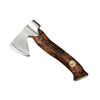 Karesuando Swedish Handcrafted Axe - 'Unna aksu' Hunting Axe [Brown]