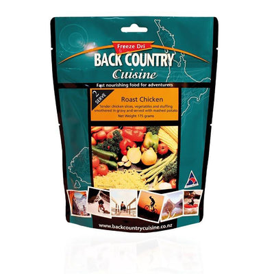 BackCountry Cuisine Freeze Dried Chicken Meals - Double Serve
