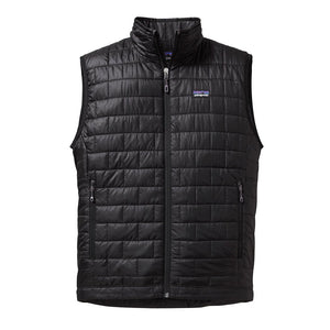 Patagonia Men's Nano Puff Insulated Vest BLK - Front