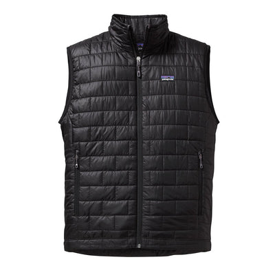 Patagonia Men's Nano Puff Insulated Vest - Black