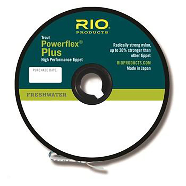 RIO Powerflex Plus Tippet - 50yds / 46m