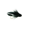 Fulling Mill Muddler Minnow Black Dry Fly - Premium Fishing Fly 8