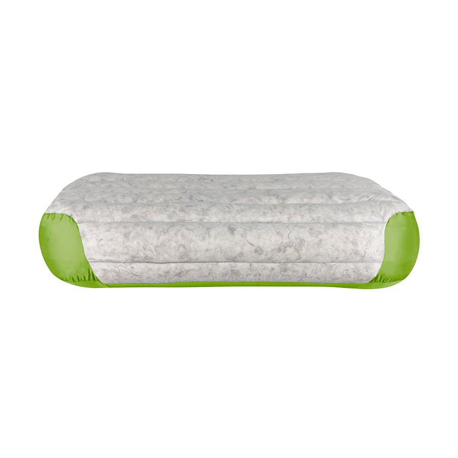 Sea to Summit Aeros Down Pillow Deluxe Side - lime
