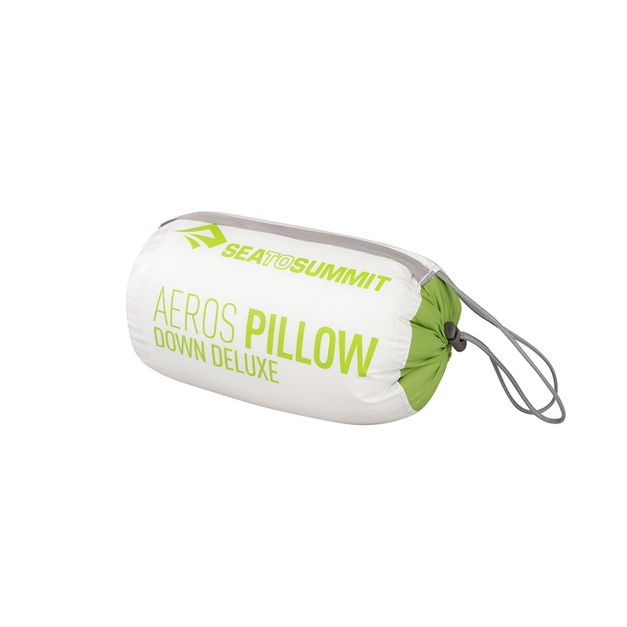 Sea to Summit Aeros Down Pillow Deluxe Packed - lime