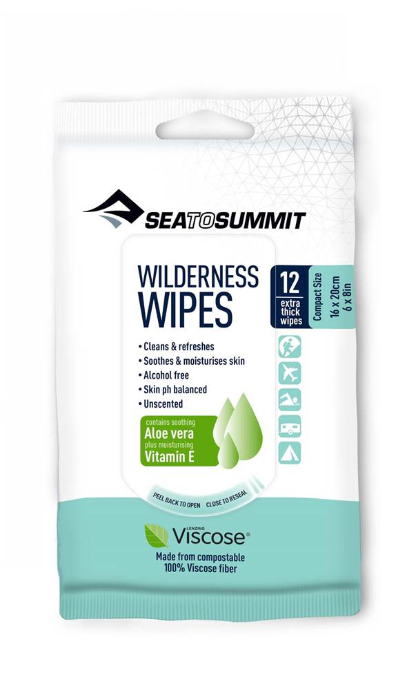Sea to Summit Wilderness Wipes - Cleaning Wipes