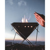 Snow Peak Stainless Steel Pack & Carry Fireplace