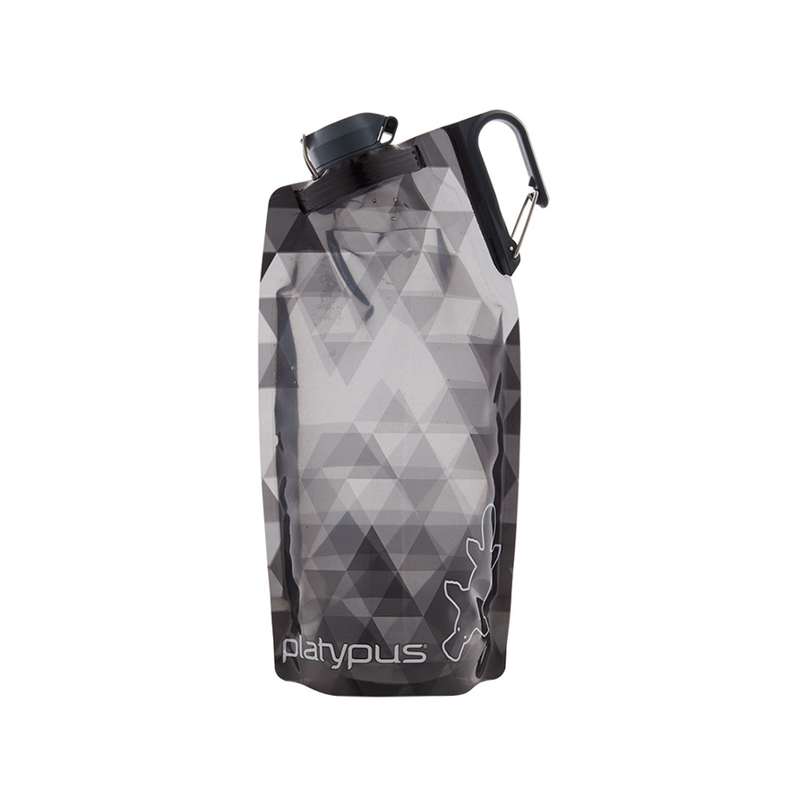 Platypus DuoLock Soft Bottle - Black Prisms Full