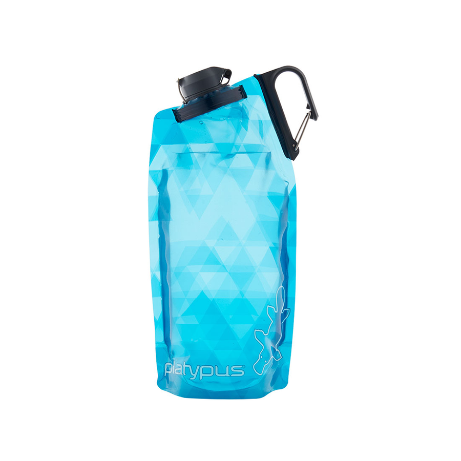 Platypus DuoLock Soft Bottle - Blue Prisms