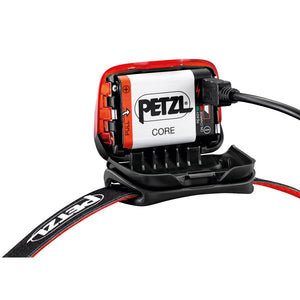 Petzl Actik CORE - Red - Open