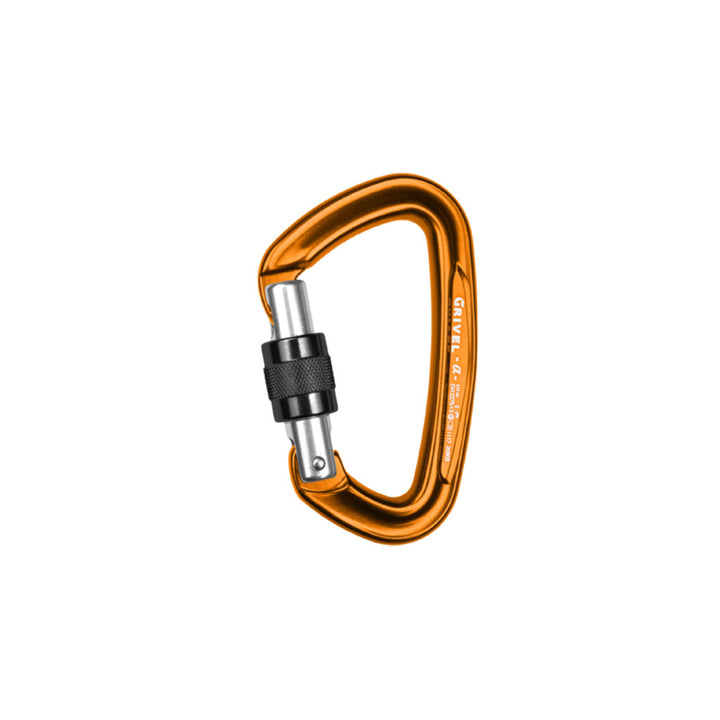 Grivel K1N Alpha Screw Lock Carabiner - hero