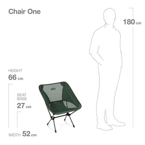 Helinox Chair One - An Icon of Lightweight Design - forest green - detail 4