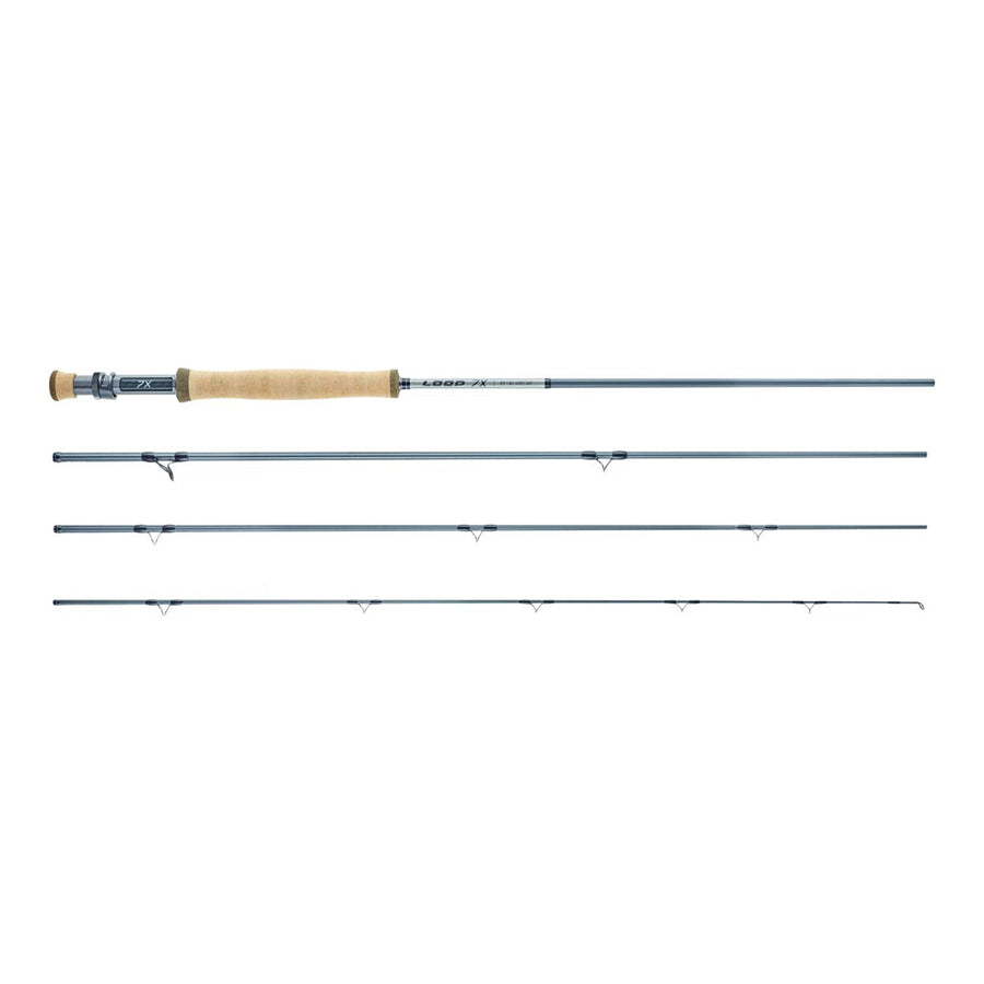 Loop 7X Single Handed Fly Rod - Fast Action - 4pc