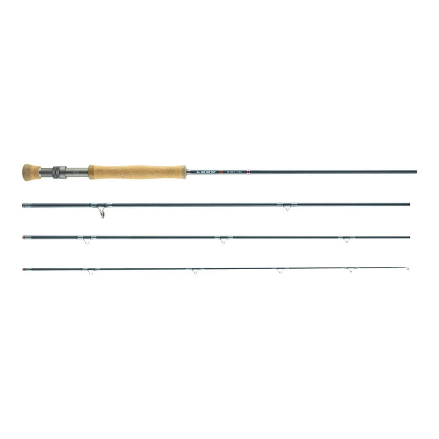 LOOP Q Fly Rod - Single Handed Fly Fishing Rod  - #7 / 9' - 4pc