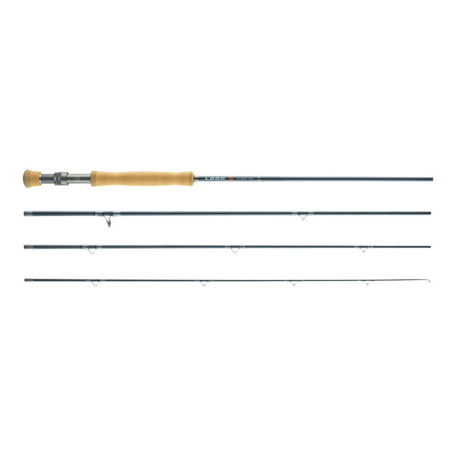 LOOP Q Fly Rod - Single Handed Fly Fishing Rod  - #9 / 9' - 4pc