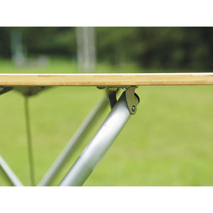 Snow Peak Single Action Bamboo Table Top - regular detail 4