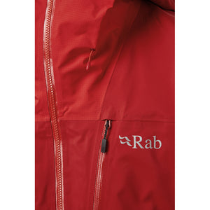 Rab Men's Muztag GTX Alpine Jacket Ascent Red Detail 3