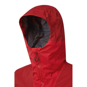 Rab Men's Muztag GTX Alpine Jacket Ascent Red Detail 1
