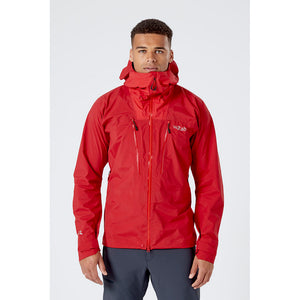 Rab Men's Muztag GTX Alpine Jacket Ascent Red Model