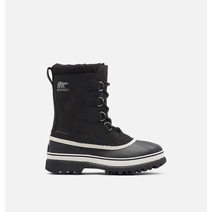 Sorel Men's Caribou Boots side 2 - Black/Dark Stone
