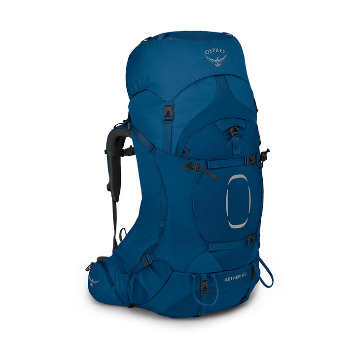 Osprey Aether Series - Hiking Pack 65L Deep water - hero