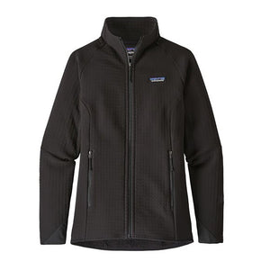 Patagonia Women's R2 TechFace Jacket BLK - Front