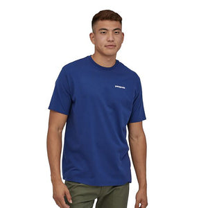 Patagonia Men's P-6 Logo Responsibili-Tee superior blue - model 1