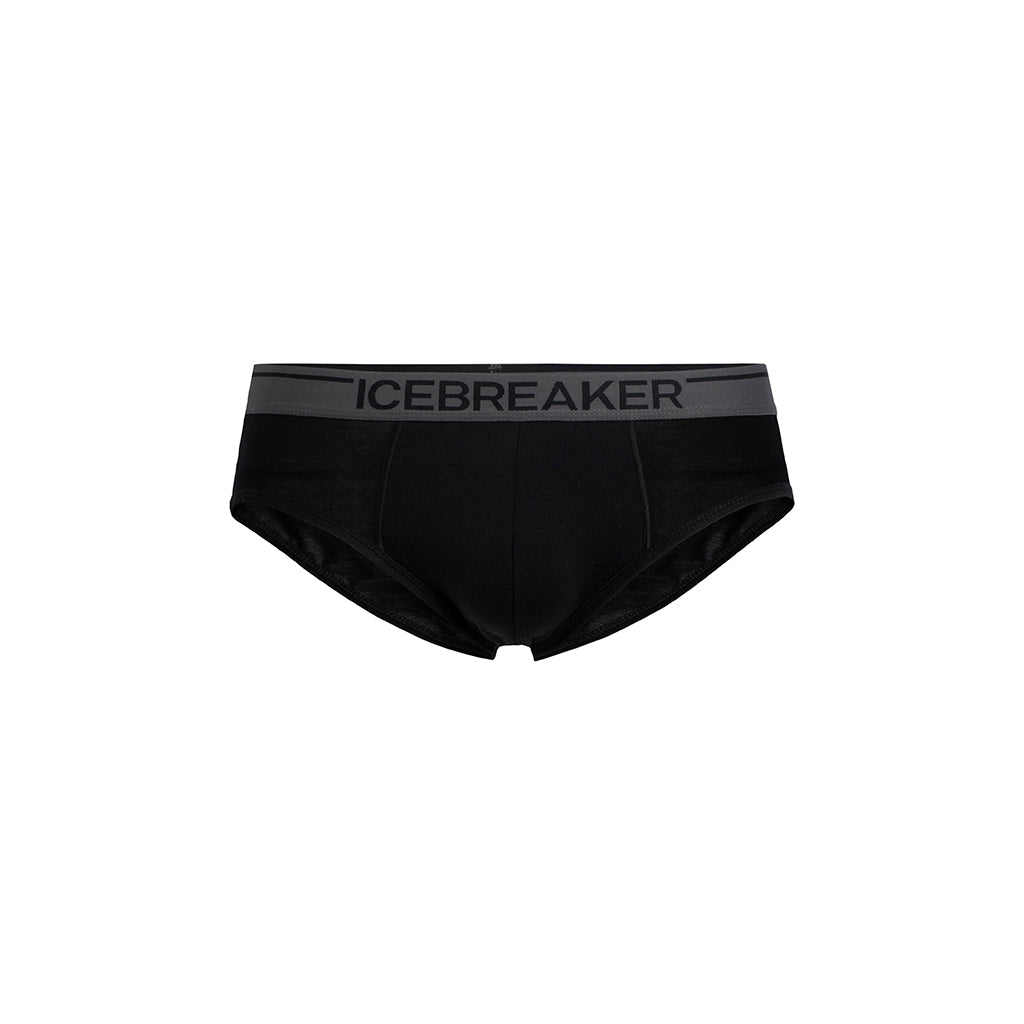 Icebreaker Men's Anatomica Briefs - Black/Monsoon - hero