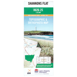 Shannons Flat 8626-2-S NSW Topographic Map